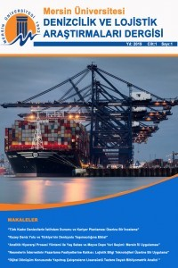 Mersin Üniversitesi Denizcilik ve Lojistik Araştırmaları Dergisi