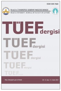 Trakya Üniversitesi Edebiyat Fakültesi Dergisi