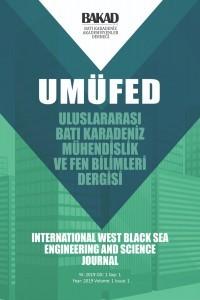 Uluslararası Batı Karadeniz Mühendislik ve Fen Bilimleri Dergisi