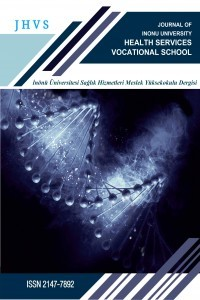 İnönü Üniversitesi Sağlık Hizmetleri Meslek Yüksek Okulu Dergisi
