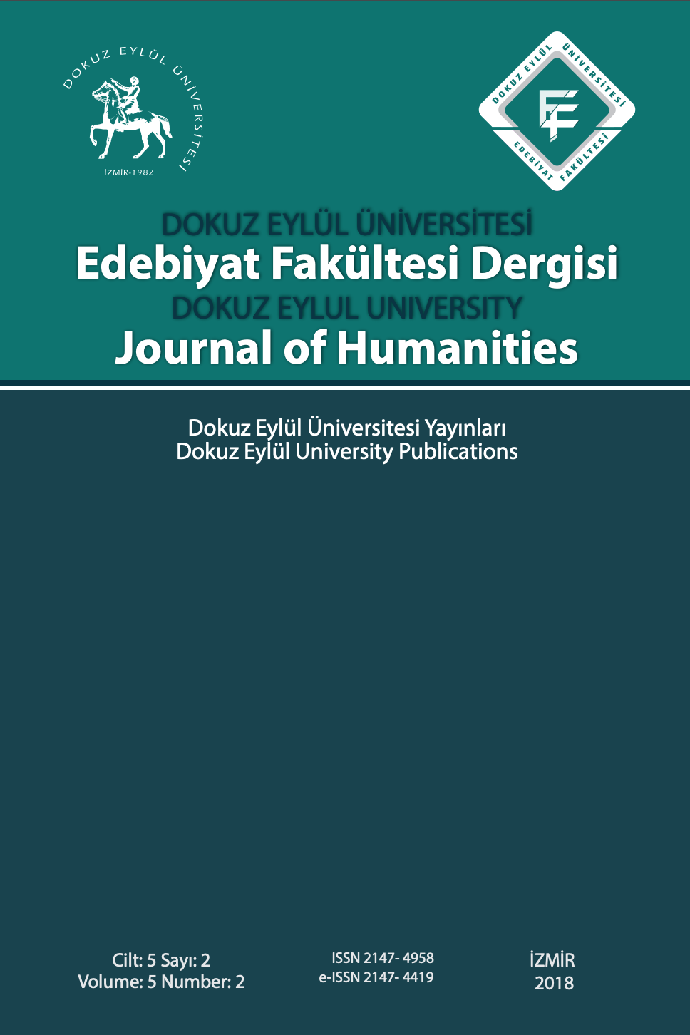 Dokuz Eylül University Journal of Humanities