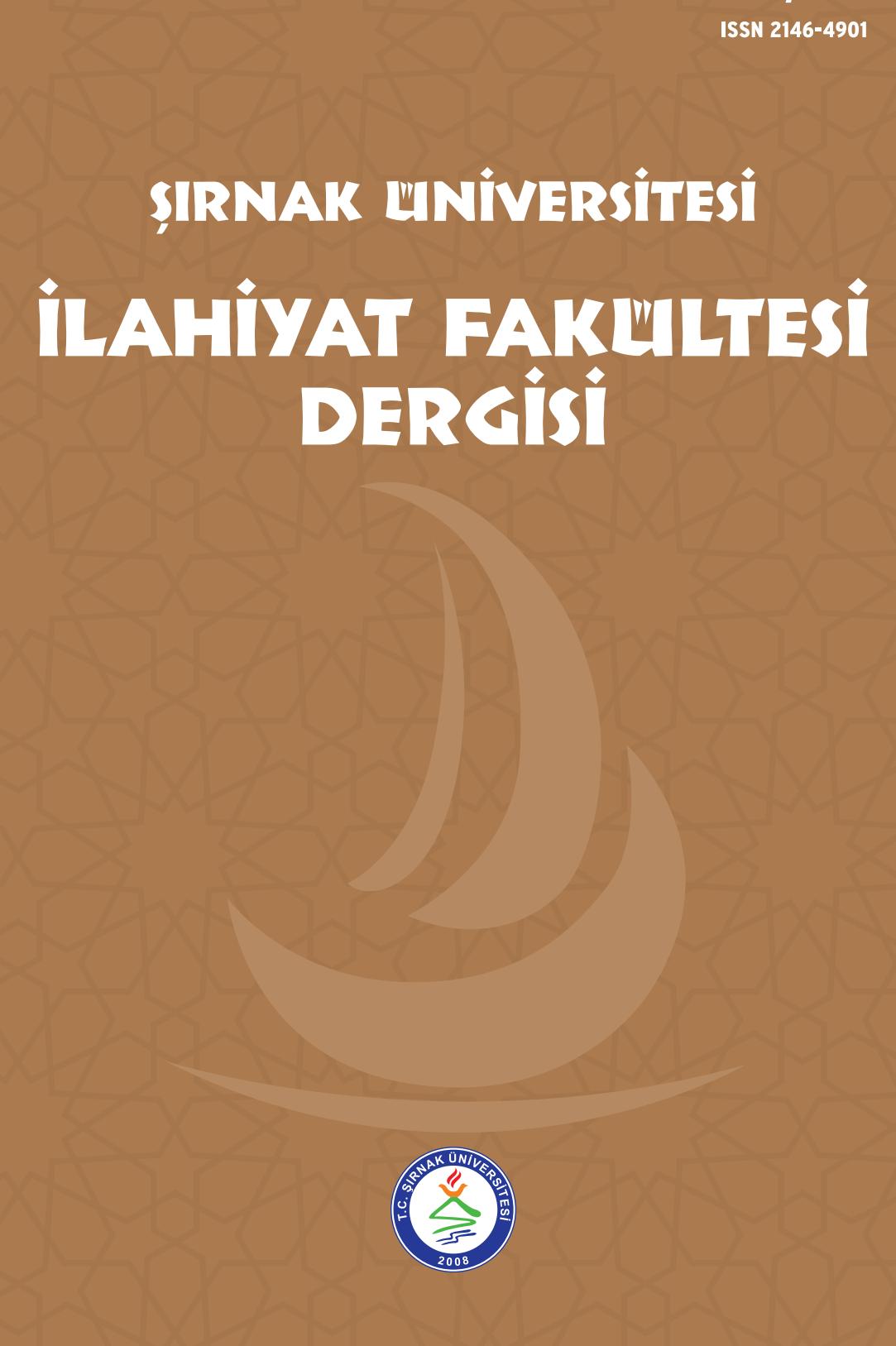 Şırnak Üniversitesi İlahiyat Fakültesi Dergisi