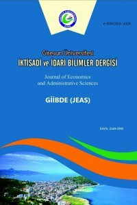 Giresun Üniversitesi İktisadi ve İdari Bilimler Dergisi