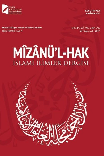 Mizanu'l-Haqq: Journal of Islamic Studies