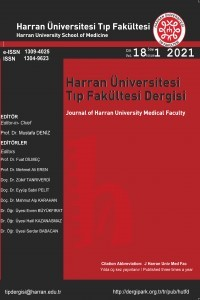 Harran Üniversitesi Tıp Fakültesi Dergisi
