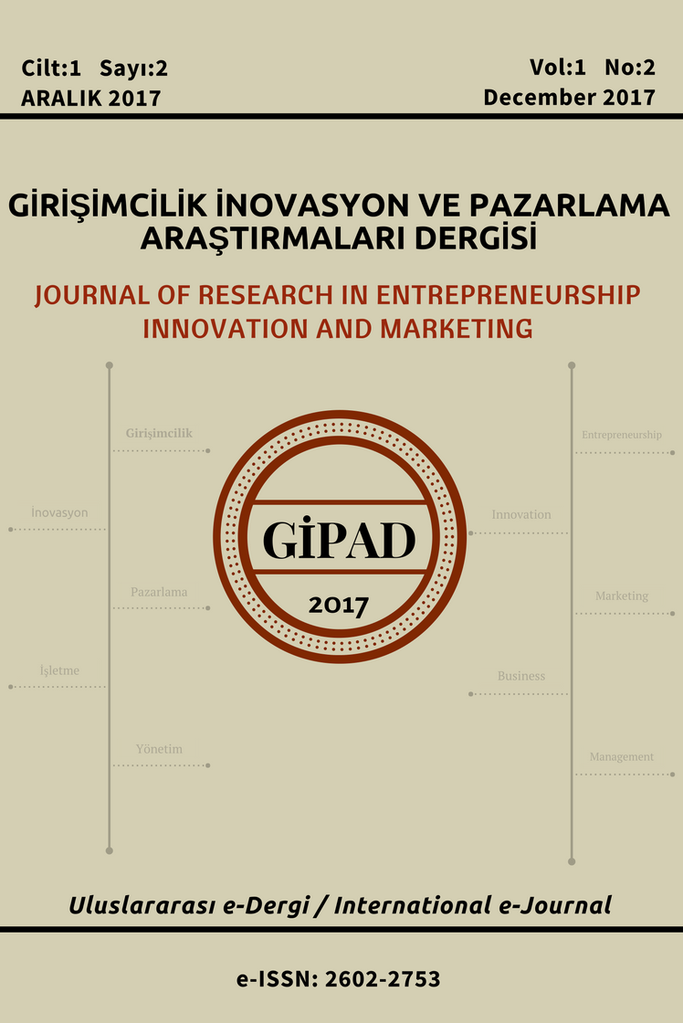 Journal of Research in Entrepreneurship Innovation and Marketing