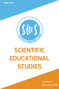 Scientific Educational Studies