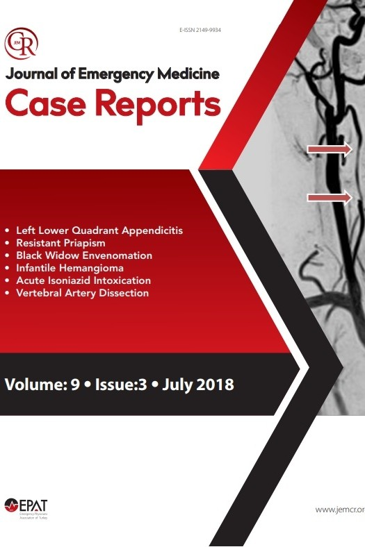 Journal of Emergency Medicine Case Reports