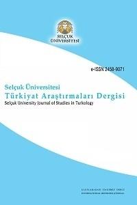Selçuk Üniversitesi Türkiyat Araştırmaları Dergisi