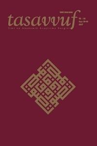Tasavvuf İlmi ve Akademik Araştırma Dergisi