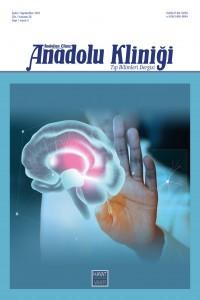 Anadolu Kliniği Tıp Bilimleri Dergisi