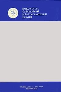 Journal of The Faculty of Divinity of Dokuz Eylül University