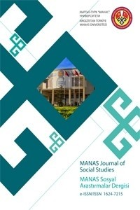 MANAS Journal of Social Studies