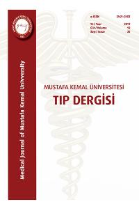 Mustafa Kemal Üniversitesi Tıp Dergisi