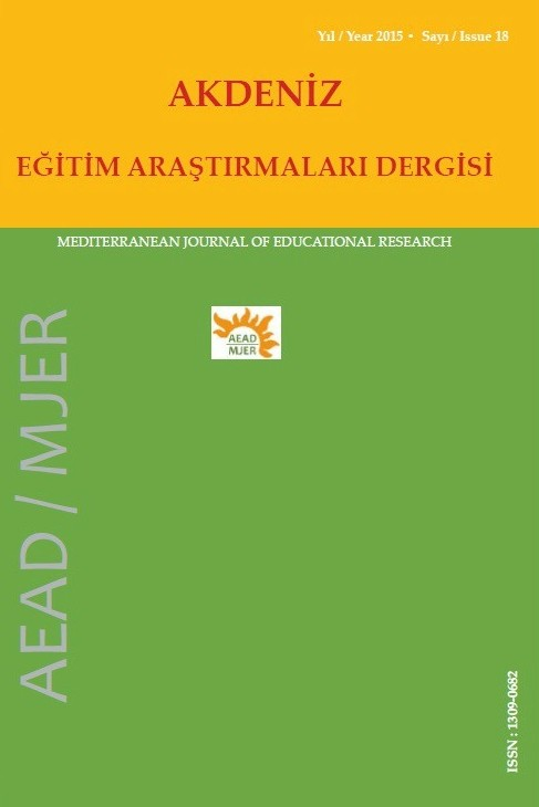 Mediterranean Journal of Educational Research