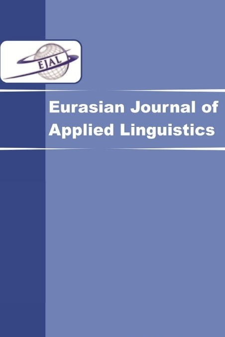 Eurasian Journal of Applied Linguistics