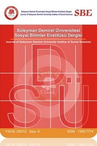 Journal of Suleyman Demirel University Institute of Social Sciences