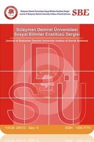 Journal of Suleyman Demirel University Institute of Social Sciences