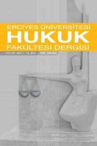 Erciyes Üniversitesi Hukuk Fakültesi Dergisi