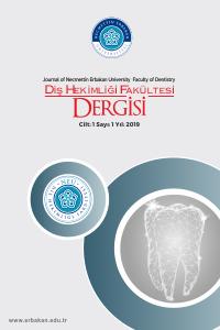 Necmettin Erbakan Üniversitesi Diş Hekimliği Dergisi
