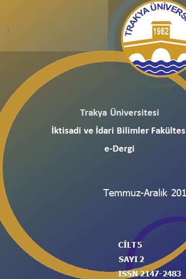 Trakya University Faculty of Economics and Administrative Science