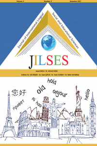 The Journal of International Lingual Social and Educational Sciences