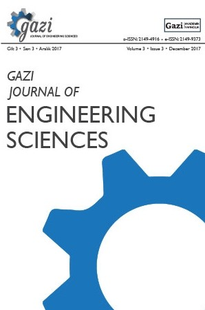 Gazi Journal of Engineering Sciences (GJES)