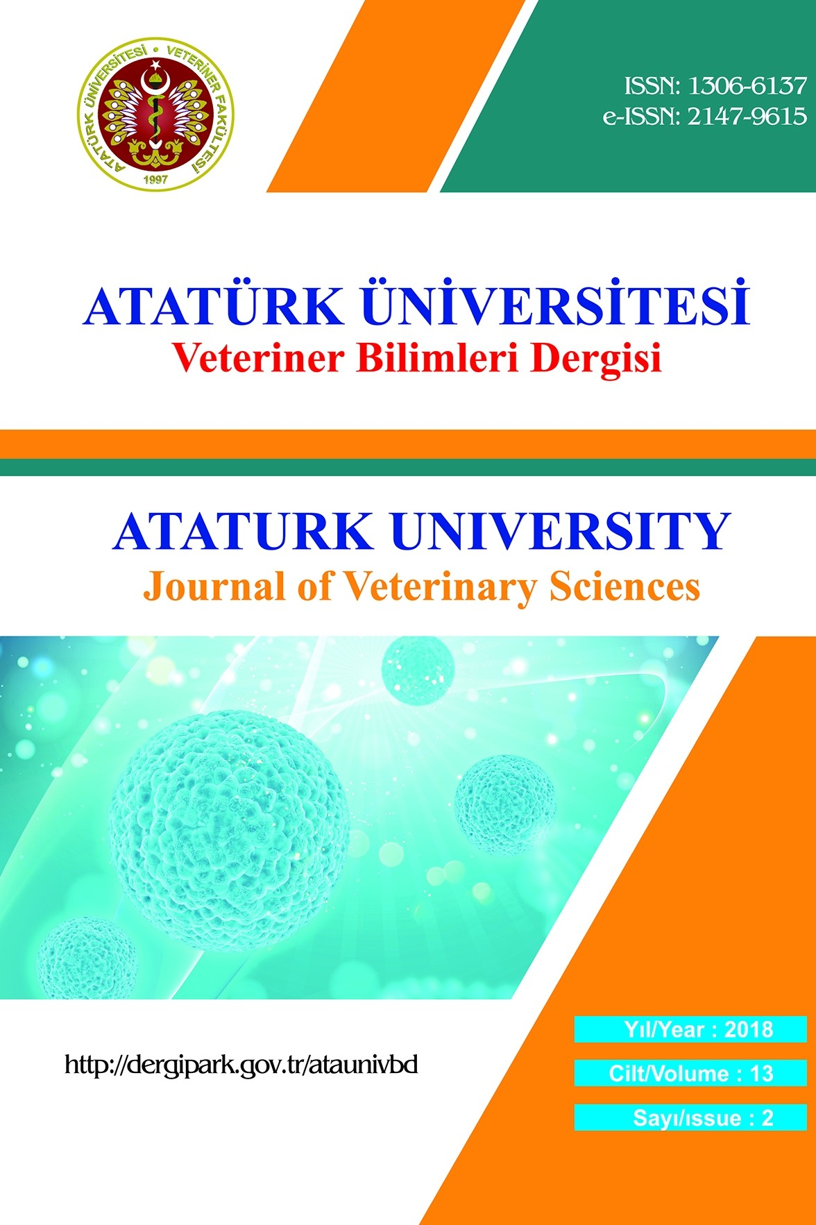 Atatürk University Journal of Veterinary Sciences