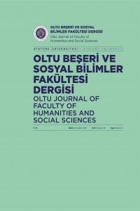 Oltu Beşeri ve Sosyal Bilimler Fakültesi Dergisi