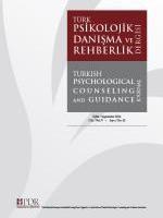 Türk Psikolojik Danışma ve Rehberlik Dergisi