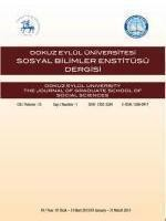 Dokuz Eylul University The Journal of Graduate School of Social Sciences