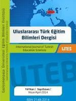 International Journal of Turkish Education Sciences