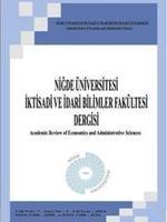 Niğde Üniversitesi İktisadi ve İdari Bilimler Fakültesi Dergisi