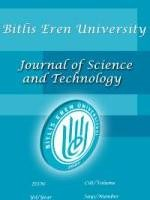Bitlis Eren University Journal of Science and Technology