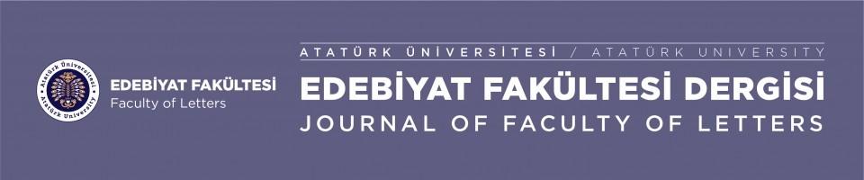 Ataturk Universitesi Edebiyat Fakultesi Dergisi Journal Ataturk
